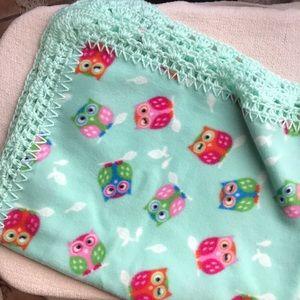 Other - Baby owl blanket